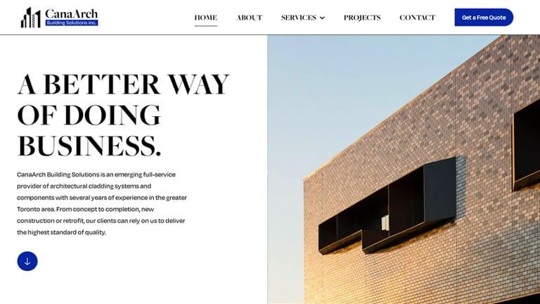 Web Design Richmond Hill - Website Development Company In Richmond Hill | Digitalpha Media | canaarch architecture building web design | Website Design | Website Development | SEO | Web Design Company | Web Design Agency | Web Designers | Web Developers