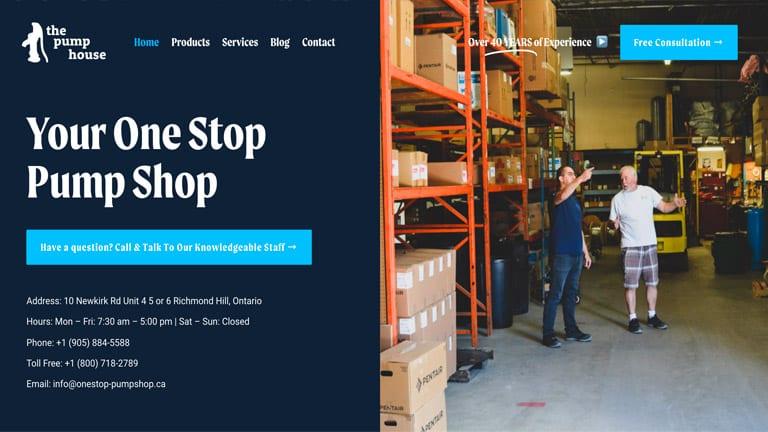 Web Design Richmond Hill - Website Development Company In Richmond Hill | Digitalpha Media | one stop pump shop | Website Design | Website Development | SEO | Web Design Company | Web Design Agency | Web Designers | Web Developers